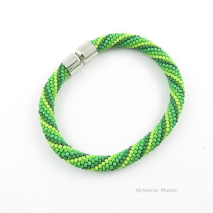 Men Bracelet Juicy Green