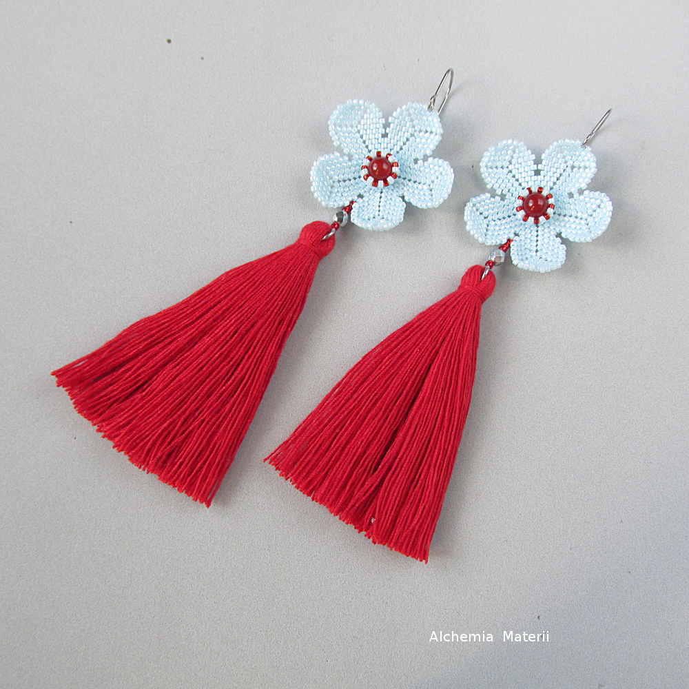 Earrings Pastel Flower