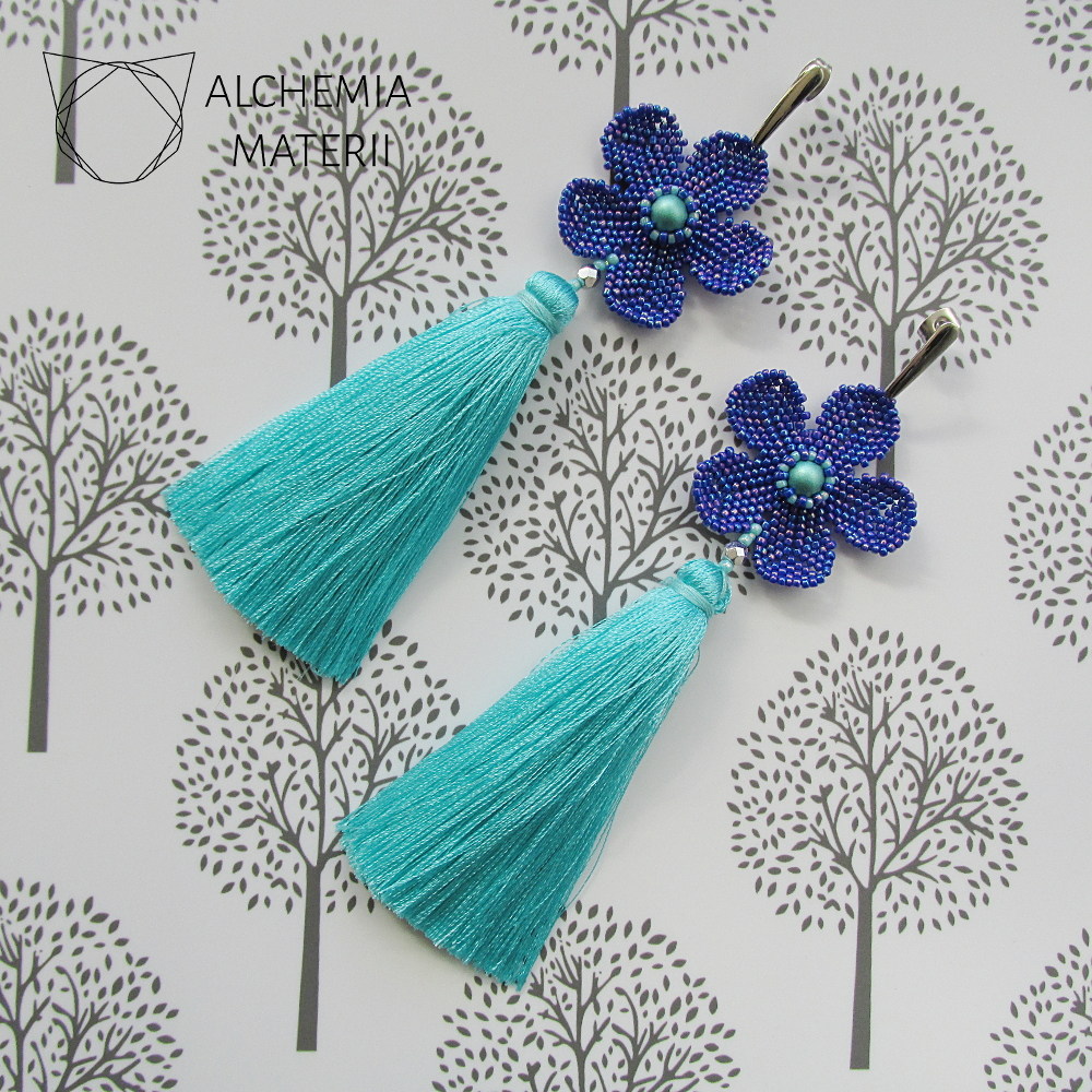 "Earrings ""Flora"""
